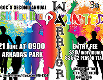 Incirlik AB CGOG Painted Warrior Run Ad campaign