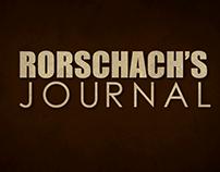 Rorschach's Journal in TYPO