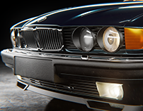 BMW 740iL e32 tribute