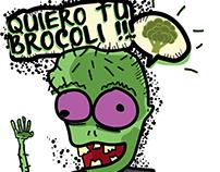 Personaje - Raul el Zombie Vegetariano