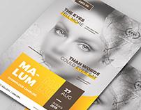 Artist Event Flyer / Poster Template