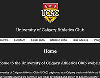 University of Calgary Athletics Club: Website