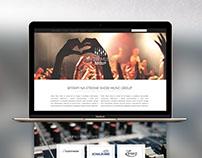 Show Music Group - webdesign & logo