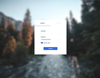 Login/ Sign up page