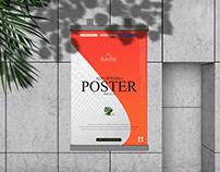 Advertising Poster Mockup Free