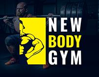 NEW BODY GYM- BRANDING