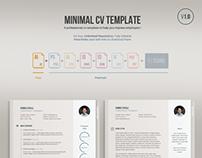 Resume, CV, Portfolio Free Psd Templates