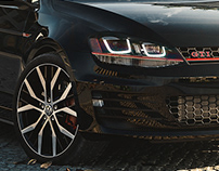 VOLKSWAGEN GOLF GTI 2016 - FULL CGI - PART 01