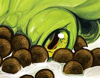 Squidz Cereal (Mockup 2012)