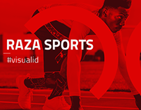 raza sports / id visual