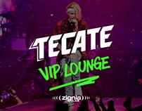 Justin Bieber VIP Lounge