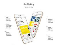 MoMA Art-Making iOS App Experience