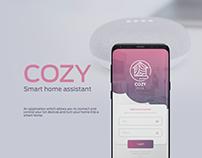 Cozy smart home application