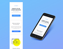 LETSWAPP - landing page