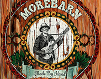 "Morebarn ""Made By Hand"" Album Artwork"