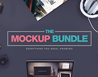 The Amazing Mockup Bundle – 25 Best Sellers + Extras!