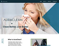 Auraclean website