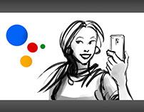 Google Assistant Türkiye reklam storyboard