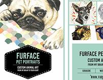 FurFace Postcards