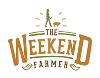THE WEEKEND FARMER LOGO DESIGN