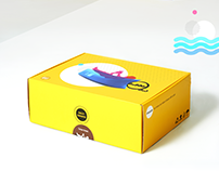 Bubble Bed | Package design, Graphic design