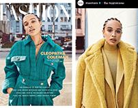 Сleopatra Сoleman for @FashionCanada