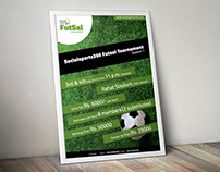 "Poster Design for ""Social Sports 360"" Event : FutSal"
