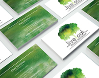 Business Cards for Live Oak Production Group
