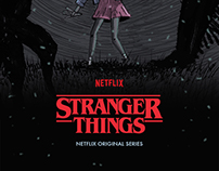 Stranger Things - Netflix Poster