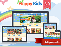 Happy Kids Wordpress v.3.0