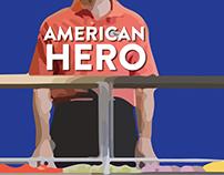 Key Art for 'American Hero'