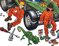 Motor mechanic [CHAMELEON]