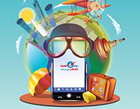 Kahramaa Online Service Ad
