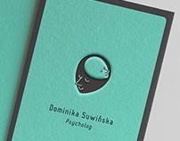 Projekt wizytówki D.S. [business card / 2016]