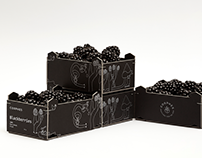Corphes Blackberries Packaging