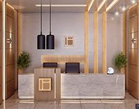 Office interior : Clayscape