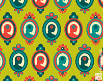 That Pretty Lady [Surface Pattern Design Collection]