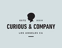 Curious & Co Branding