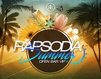 Rapsodia Summer - OPEN BAR VIP