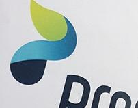 Prosper logo en huisstijl ontwerp