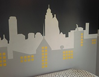 Gotham City Mural