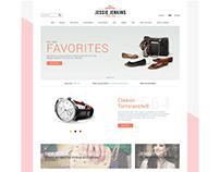Online Shop UI Design.