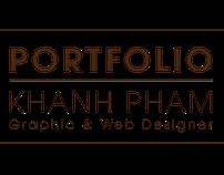 Khanh Pham's Resume CV Web Designer, Graphic Designer