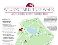 Wilcox Park Self-Guided Tree Walk - Graphic Design