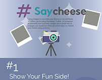 #saycheese Using images to promote your brand