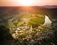Castles of Périgord, France