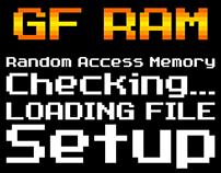 GF RAM (латиница, кириллица)
