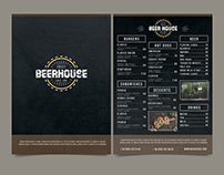 Free Beer House Menu