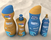 Nivea Shampoo Packaging
