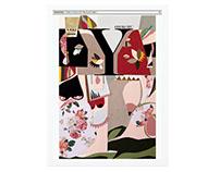 Cover for Yorokobu magazine